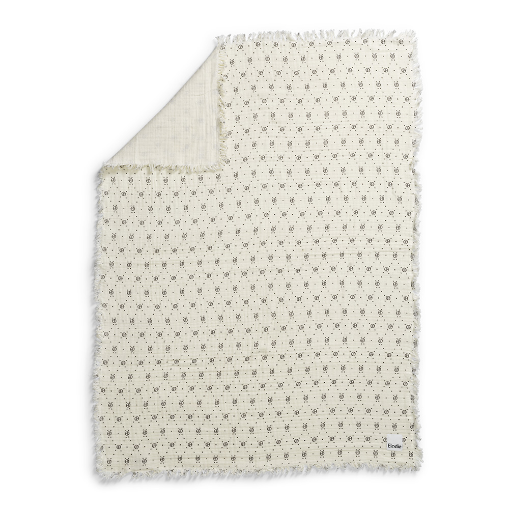 Soft Cotton Blanket Monogram Elodie Making Life With Children Even More Beautiful